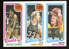 1980-81 Topps Basketball LARRY BIRD S.L. ROOKIE Card ((BEAUTIFUL!!))