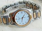 Vintage CERTINA DS 7070 Two Tone Gold Plated & Steel Swiss Quartz Mens Watch