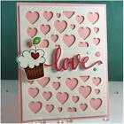 DIY Heart Dies Metal Cutting Craft Mold Scrapbooking Die Crafts Embossing Decor
