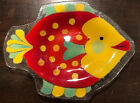 Peggy Karr Glass Plate Fish