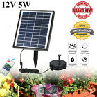 12V 5W Mini Solar Water Pump Power Panel Kit Fountain Pool Garden Pond HOT L8C8