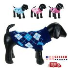 Pet Dog Sweater Puppy Knit Jacket Clothes Apparel For Small Medium Large XS 2XL
