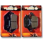 Honda F+R Brake Pads VT 1100 C2 Shadow (1995-2007) VTX 1300 S Retro (2003-2013)