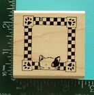 KITTY CAT FRAME Rubber Stamp by Rubber Stampede