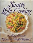2 Book Lot From WeightWatchers Simply Light Cooking Hardcover
