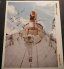 Old Real Photo Signed James DAVan Hoften STC 41 C Space Shuttle Challenger