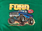 Vintage 1981 80s Roach Ford 4X4 Iron On Transfer T Shirt XL Extra Large