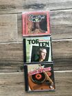 Lot of 3 country cds 2 Time Life Country cds Warner Bros Randy Travis Top 10