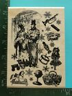 TOYS AND FANCY GOODS Collage Rubber Stamp by Inkadinkado
