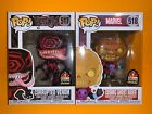 Funko Pop Marvel Corrupted Venom + Cosmic Ghost Rider LACC 2019 Shared Exclusive