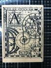NEW Stampers Anonymous Art Continuum Rubber Stamp A collage free USA ship