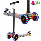 Kids Scooter Deluxe for Toddler Adjustable Kick Scooters Girls Boys 4LED Wheels