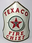 1960s Vintage Texaco Fire Chief Helmet Replacement Front Shield, Preowned, Toy