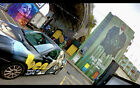 LARGER PHOTOS: Charity Auction - Peaky Blinders Graffiti Saab 9-3 Linear Sport Tid 2005