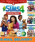 The Sims 4 + 4 DLC included Cats  Dogs Digital Download Account PC MAC