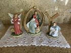 3 Piece Joy Sign with Nativity Scene by Valerie