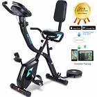 Folding Exercise Bike 3 in 1 Cycle Indoor Stationary Fitness Magnetic Trainer
