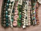 Lot 25 Bead Strands Jewelry Making Venezia Crystals Rhinestone Glass Stone More