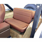 For Jeep Wrangler Cj Yj 76 95 New Fold Tumble Rear Seat Tan X 1346204