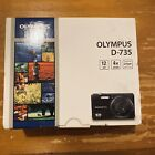 Olympus D D-700 12.0MP Digital Camera - Silver ! Brand New Open Never Been Used