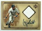 George Brett 2001 Upper Deck Hall of Famers Game Jersey Autograph KC Royals Auto
