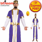 CA1186 Biblical King 3 Three Wiseman Christmas Nativity Play Biblical Costume