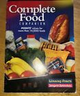 Weight Watchers Complete Food Companion Book 2001 Winning Points Values 14000 +