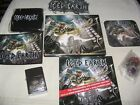 Iced Earth – Dystopia deluxe BOX belt buckle lighter wristband patch 3button