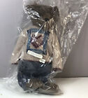 "NEW IN BAG Boyds Bears CORNWALLIS 9126 Blue Denim Overalls Sweater Tags 16"" RARE"