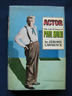 THE LIFE  TIMES OF PAUL MUNI SIGNED by JEROME LAWRENCE to Literary Agent 1st
