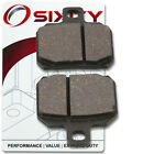 Front Organic Brake Pads 2004-2005 Derbi GPR50 Nude Set Full Kit  Complete ji