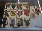1974 1975 TOPPS Marvel Comic Book Heroes Sticker Complete Set of 40 - VG