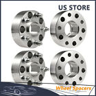 4Pcs 2 Hubcentric Wheel Spacers 5X55 1 2X20 For Jeep Wrangler Grand Cherokee