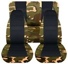 SI Designcovers Seat Covers Front & Rear to Fit 87-95 Wrangler camouflage NAME