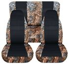 SI Car Seat Covers Front & Rear  Fits Wrangler 87-95 reeds camouflage with name