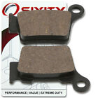Rear Organic Brake Pads 2007 KTM 560 SMR Set Full Kit  Complete ul