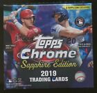 2019 Topps Chrome Sapphire Edition Sealed Unopened Box Online Exclusive #1