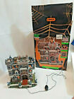 Lemax Spooky Town Castle on Spooky Hill Halloween Porcelain Lights village decor