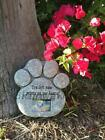 Dog Pet Cat Photo Frame Memorial Grave Garden Backyard Tombstone Headstone New