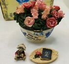 Boyds Bears Bearlove's Flower Bouquet w/Momma and Baby McNibble #82530 2003 Mom