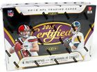 2018 PANINI CERTIFIED FOOTBALL HOBBY 12 BOX CASE