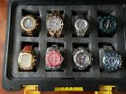 Lot of Mens Watches, Invicta and Citizen Eco-Drive, New to Very Good Condition
