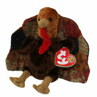 TY Beanie Baby - FEASTINGS the Turkey (BBOM November 2007) (5.5 inch) - MWMTs