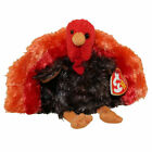 TY Beanie Baby - LEFTOVERS the Turkey (5 inch) - MWMTs Stuffed Animal Toy