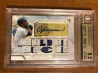 2018 Topps Triple Threads Andre Dawson Auto BGS 9.5 10 Game used Jersey
