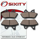 Front Ceramic Brake Pads 2000-2006 Harley Davidson FLHRI Road King Set Full r