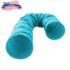 Pet Agility Training Tunnel Tube Dog Cat Obedience Interactive Play Toy Foldable
