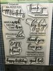 New Penny Black Rubber Stamp set SPECIAL SENTIMENTS BIRTHDAY free USA ship