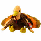 TY Beanie Baby - DRUMSTICK the Turkey (Internet Exclusive) (5.5 inch) - MWMTs