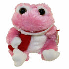 TY Beanie Baby - LOVIE the Frog with Heart - MWMTs Stuffed Animal Toy